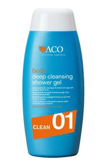 aco deep cleansing shower gel
