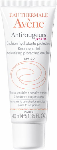 AVENE REDNESS-RELIEF MOISTURIZING EMULSION SPF 20 kevyt hoitovoide 40 ml
