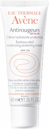 AVENE REDNESS-RELIEF MOISTURIZING DAY CREAM SPF 20 hoitovoide punoittavalle iholle 40 ml