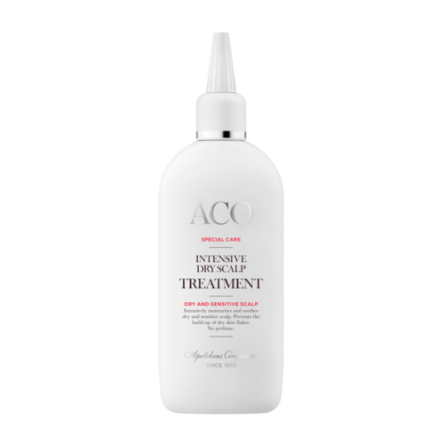 * * ACO SPECIAL CARE INTENSIVE DRY SCALP TREATMENT geeli kuivalle hiuspohjalle 150 ml