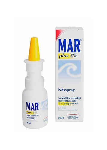 MAR PLUS 5 % nenäsumute 20 ml