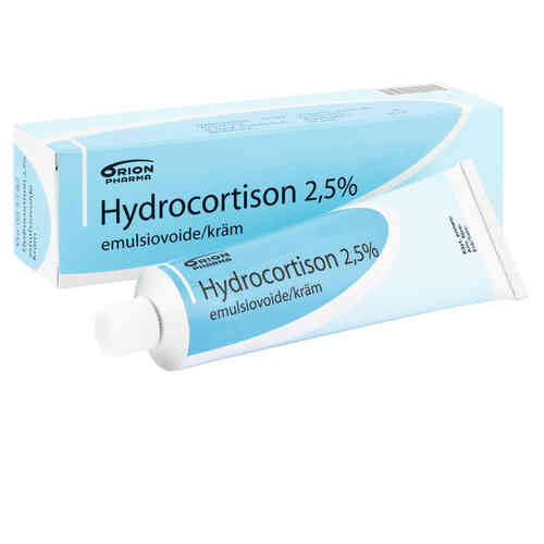 HYDROCORTISON ORION 2,5 % emulsiovoide 100 g