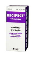 RECIPECT oraaliliuos 150 ml