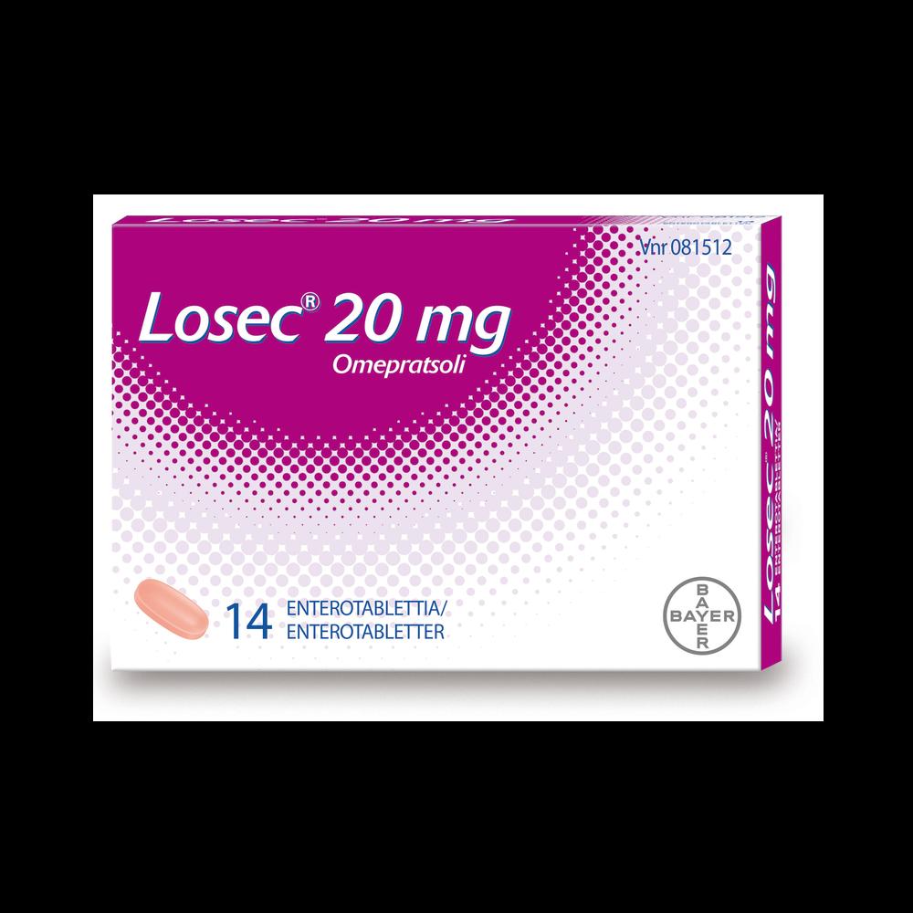 Losec a 20 mg