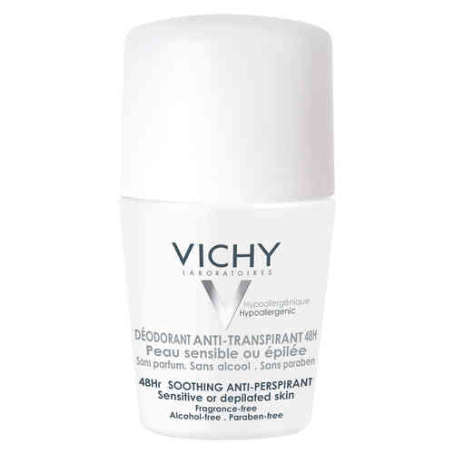 VICHY DEO 48h SOOTHING antiperspirantti roll-on 50 ml