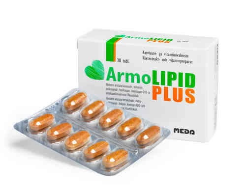 ARMOLIPID PLUS kolesterolin hallintaan 30 tablettia