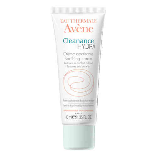 AVENE CLEANANCE HYDRA SOOTHING CREAM hoitovoide 40 ml