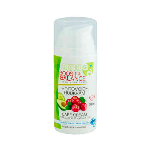 AMOA BOOST AND BALANCE KARPALO intiimihoitovoide 100 ml