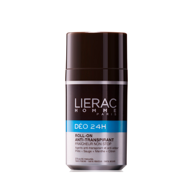 LIERAC HOMME DEO 24h roll-on antiperspirantti 50 ml