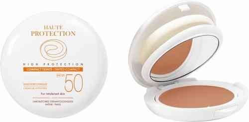 AVENE HIGH PROTECTION COMPACT SPF 50 aurinkosuojameikkivoide 10 g Honey