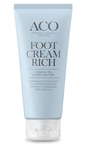 * * ACO FOOT CREAM RICH jalkavoide 100 ml