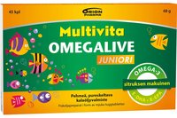 MULTIVITA OMEGALIVE JUNIORI 45 tablettia
