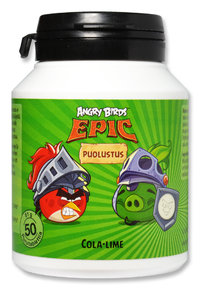 ANGRY BIRDS EPIC PUOLUSTUS monivitamiini 50 tabl