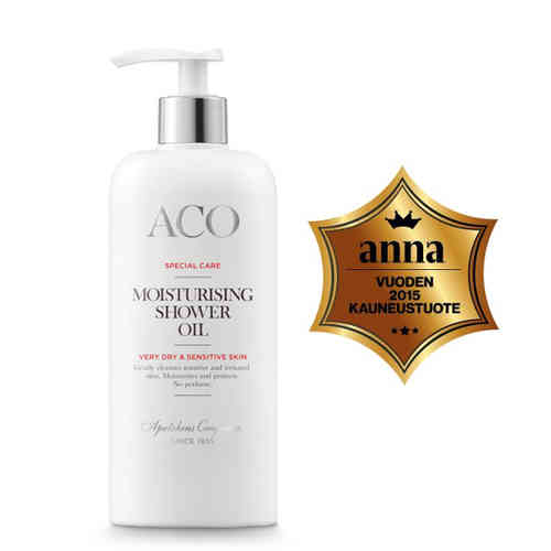 * * ACO SPECIAL CARE MOISTURISING SHOWER OIL suihkuöljy 300 ml
