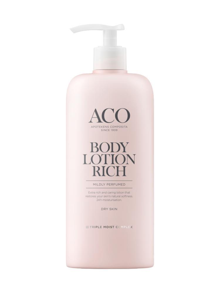 aco rich care body lotion