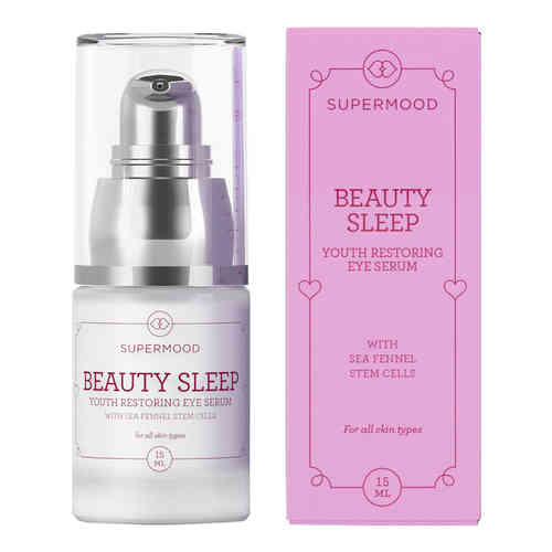 SUPERMOOD BEAUTY SLEEP EYE SERUM silmänympärysseerumi 15 ml