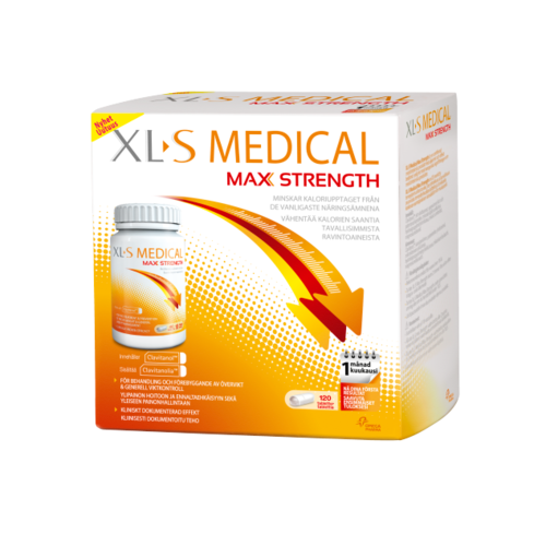 * * * XL-S MEDICAL MAX STRENGTH painonhallintaan 120 tablettia