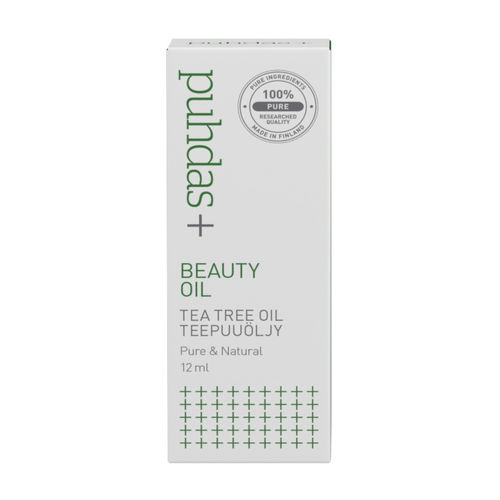 * * PUHDAS+ BEAUTY OIL TEA TREE OIL teepuuöljy 10 ml