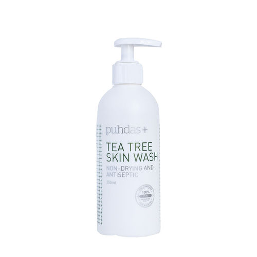 * * PUHDAS+ TEA TREE SKIN WASH pesuneste 250 ml **