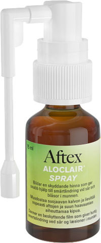 AFTEX ALOCLAIR spray aftojen hoitoon 15 ml *