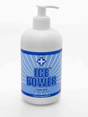 ICE POWER kylmägeeli pumppupullo 400 ml