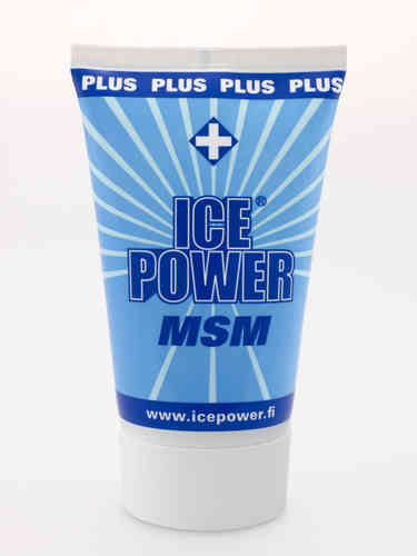 ICE POWER PLUS MSM kylmägeeli 100 ml