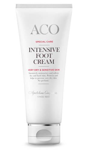 ACO SPECIAL CARE INTENSIVE FOOT CREAM kosteuttava jalkavoide 100 ml