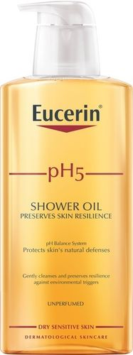 EUCERIN PH5 SHOWER OIL 400 ml, hajustettu ja hajustamaton