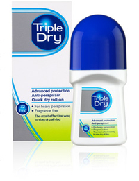 * * TRIPLE DRY roll-on tuoksuton antiperspirantti 50 ml