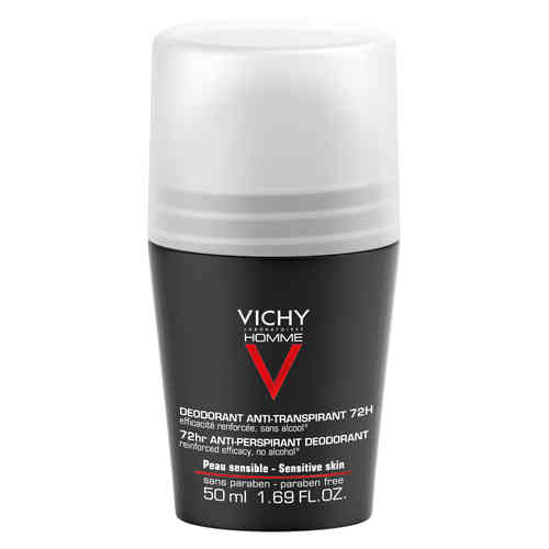 * * VICHY DEO HOMME ANTIPERSPIRANT 72h roll-on 50 ml