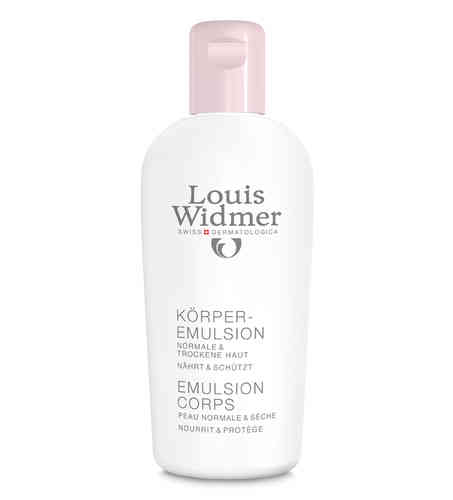 LOUIS WIDMER BODY EMULSION vartaloemulsio 200 ml