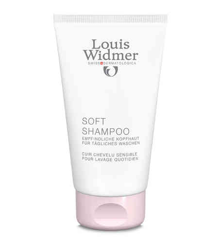LOUIS WIDMER SOFT SHAMPOO + PANTHENOL shampoo 150 ml