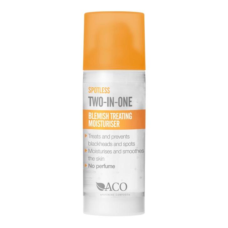 aco blemish treating toner