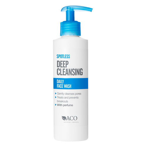 * * ACO SPOTLESS DEEP CLEANSING DAILY FACE WASH pesugeeli 200 ml
