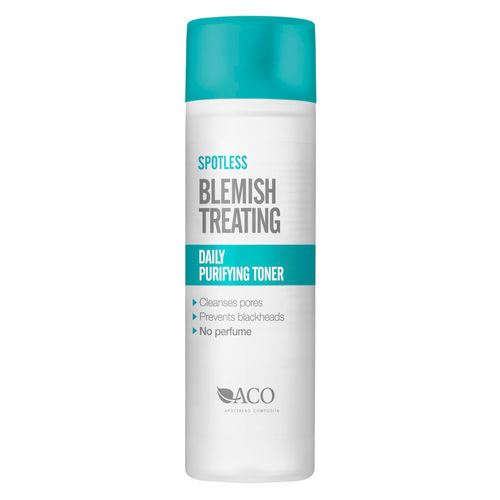 * * ACO SPOTLESS BLEMISH TREATING DAILY PURIFYING TONER kasvovesi 200 ml