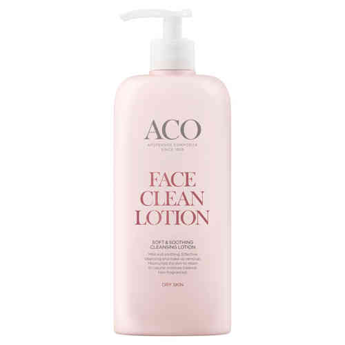 ACO FACE CLEAN SOFT AND SOOTHING puhdistusemulsio 400 ml