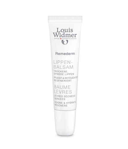 LOUIS WIDMER REMEDERM LIP BALM huulirasva 15 ml