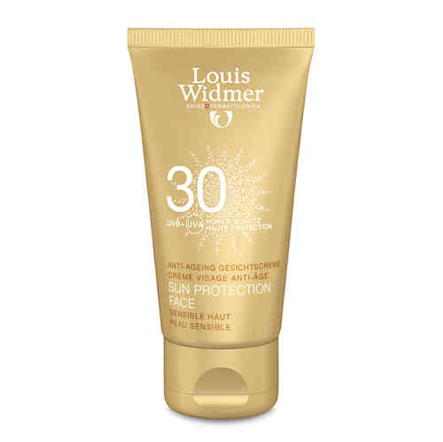 * LOUIS WIDMER SUN PROTECTION ANTI-AGEING SPF 30 aurinkovoide kasvoille 50 ml