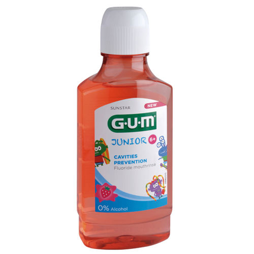 GUM JUNIOR MONSTERS suuvesi yli 6-vuotiaille 300 ml *
