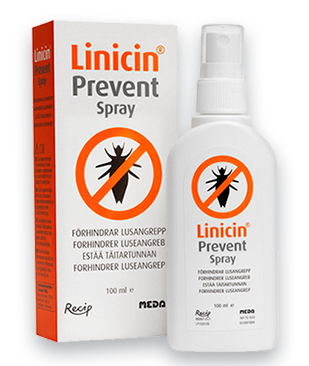 LINICIN PREVENT SPRAY täitartunnan estoon 100 ml