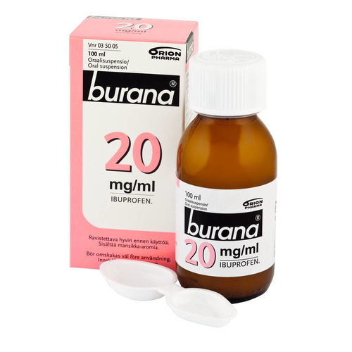 BURANA 20 mg/ml oraalisuspensio 100 tai 200 ml