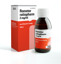 ROMETOR ratiopharm 2mg/ml oraaliliuos 125 ml tai 200 ml