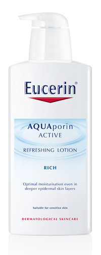 EUCERIN AQUAPORIN ACTIVE  REFRESHING LOTION RICH vartaloemulsio 400 ml