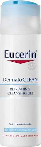 EUCERIN DERMATOCLEAN REFRESHING CLEANSING GEL puhdistusgeeli 200 ml