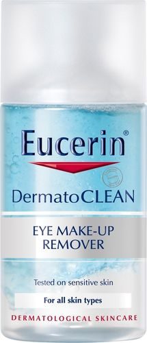 EUCERIN DERMATOCLEAN WATERPROOF EYE MAKE-UP silmämeikin poistoaine 125 ml