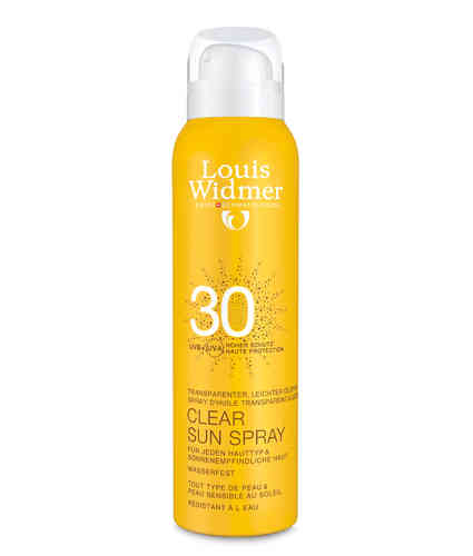 LOUIS WIDMER SUN CLEAR SPRAY aurinkosuojaspray SPF30 125 ml *