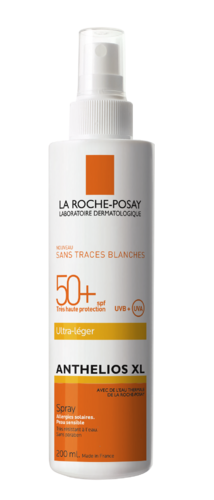 LA ROCHE-POSAY ANTHELIOS XL ULTRA-LIGHT SPF 50+ aurinkosuihke vartalolle 200 ml