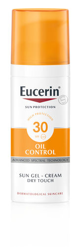 EUCERIN OIL CONTROL SUN GEL-CREAM Dry Touch SPF30 aurinkovoide 50 ml