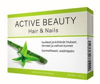 ACTIVE BEAUTY HAIR & NAILS 60 tablettia **