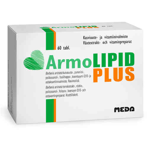ARMOLIPID PLUS kolesterolin hallintaan 60 tablettia